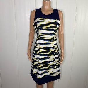 Luxe By Carmen Marc Valvo Sheath Dress Size 12